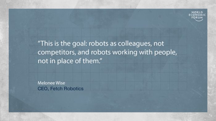 Collaborating with robots
