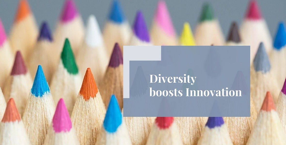 Diversity boosts Innovation - Loftus Bradford
