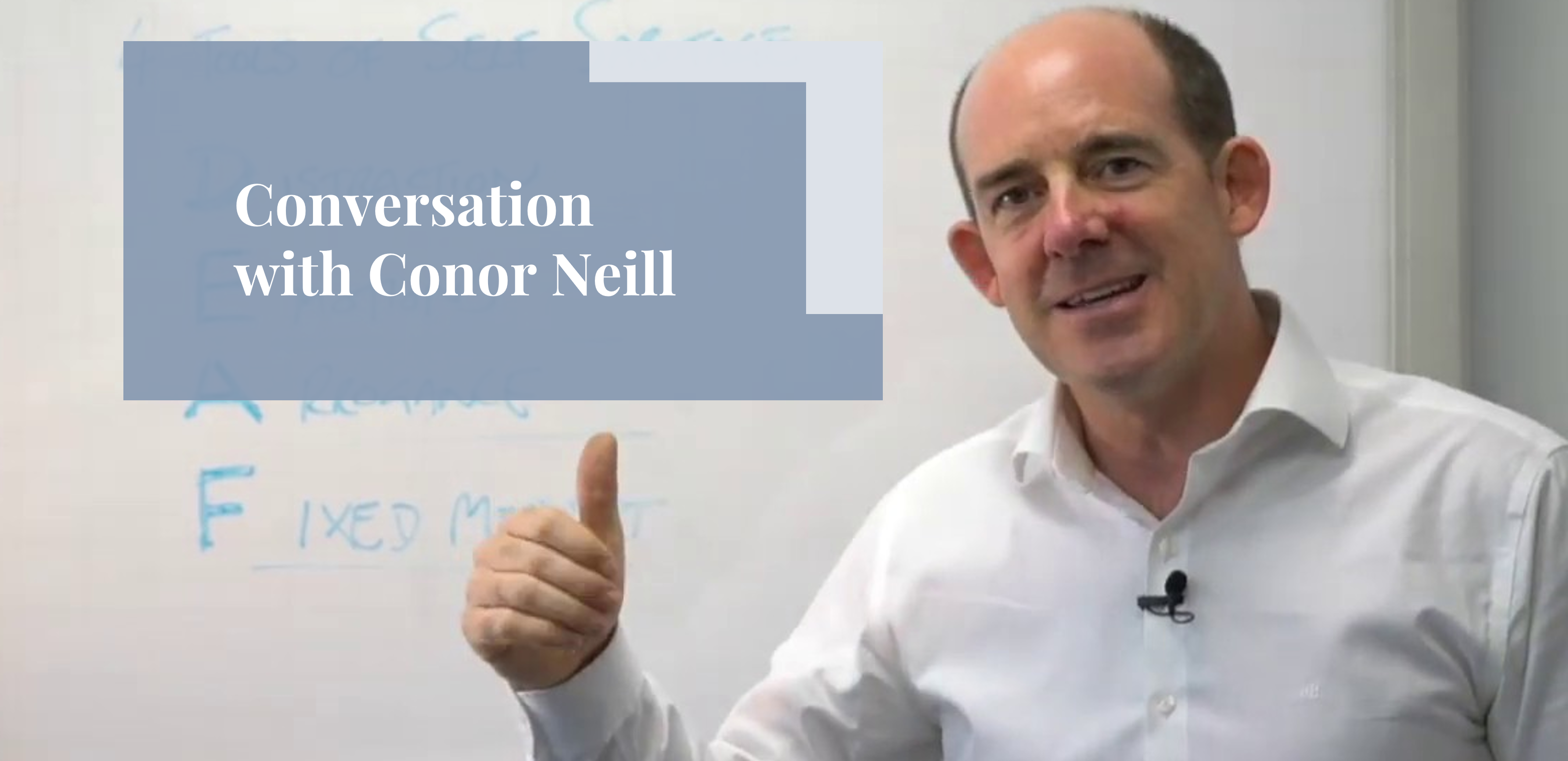 Executive Communication with Conor Neill [Podcast]
